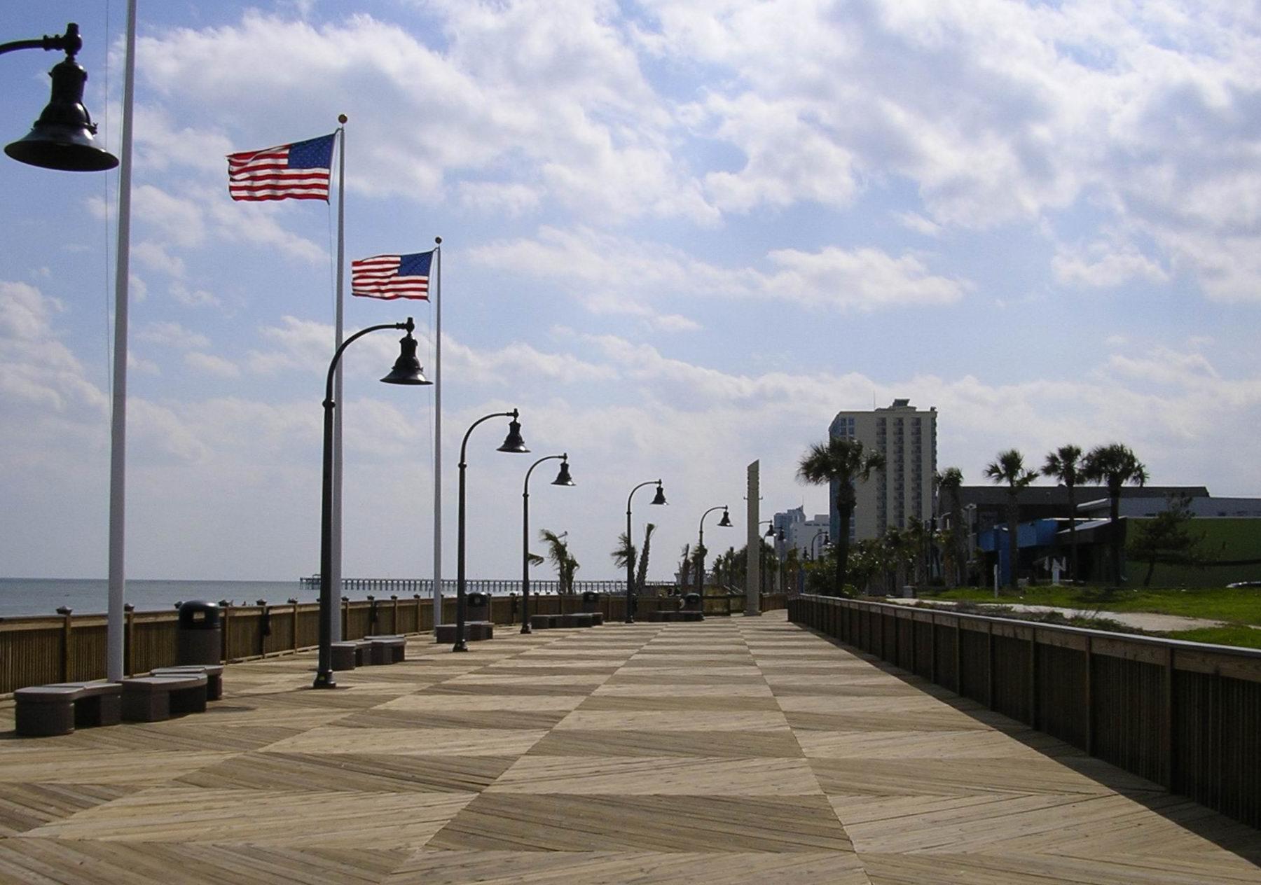 The Widest Segment Of Boardwalk