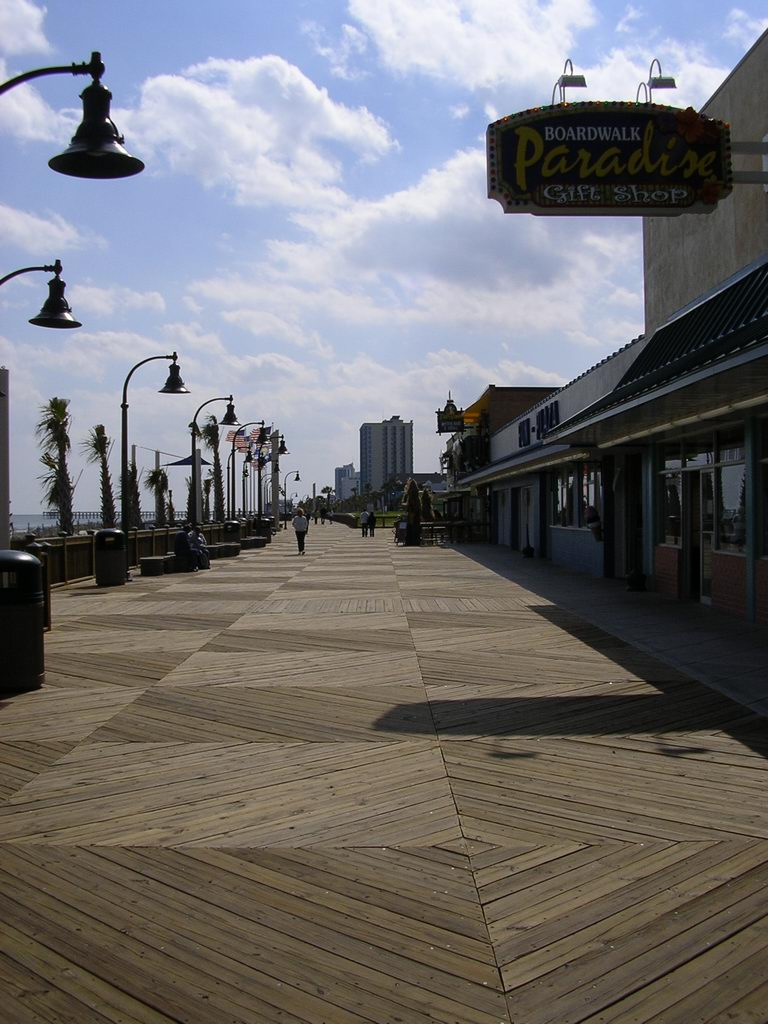 Myrtle Beach Boardwalk Promenade Land Perspectives