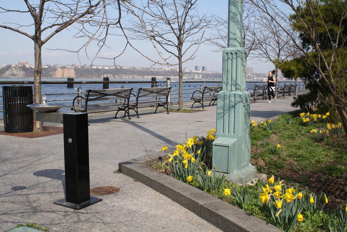 Hudson River Park Chelsea Section Land Perspectives