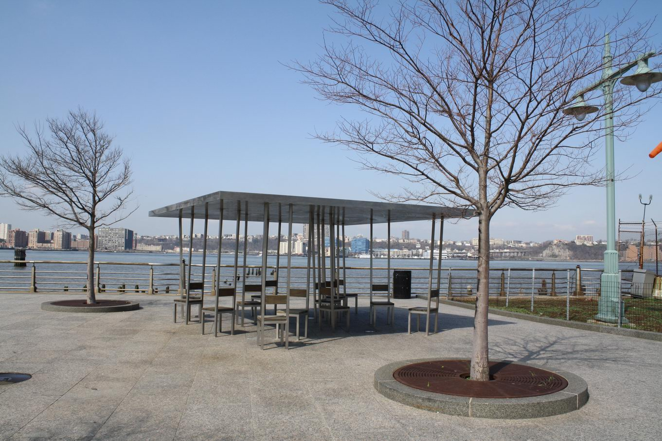 Hudson River Park Land Perspectives