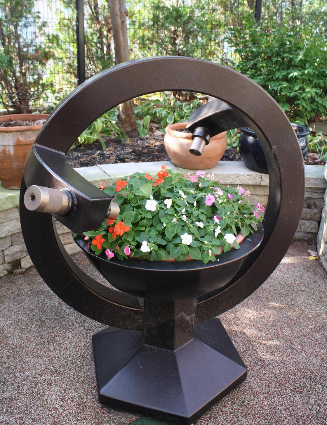 Good A Custom Made Planter With Kid  And Adult  Level Kaleidoscopes