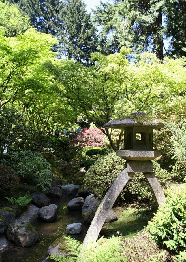 Portland Japanese Garden F