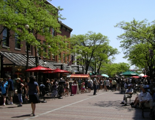 Church Street Marketplace, Burlington VT