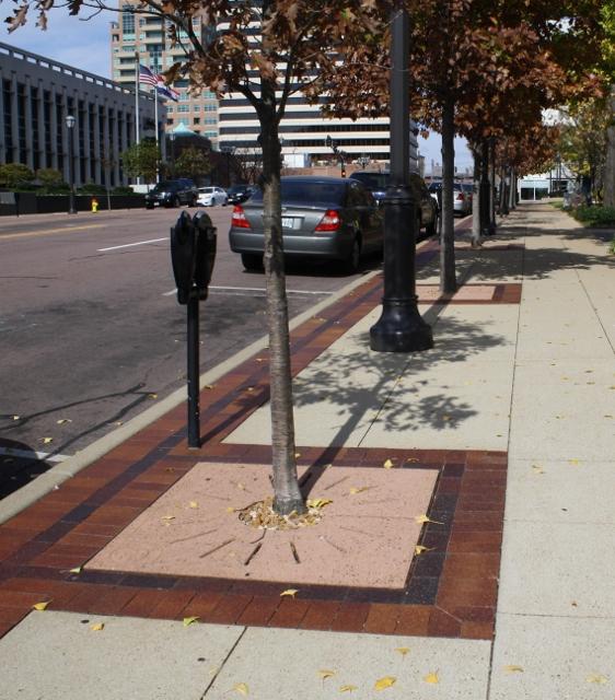 Streetscape, Clayton MO