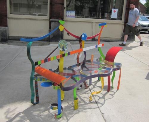 10 - Belfast ME bench