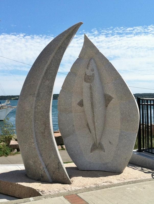 7 - Sculpture in Eastport ME
