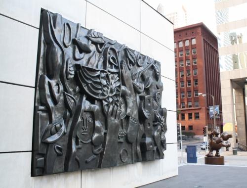 8 - CityGarden bas-relief