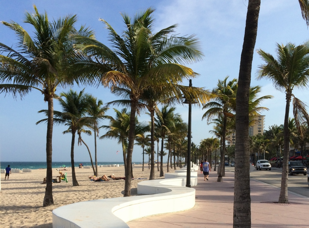 Fort Lauderdale Wave Wall And Promenade Land Perspectives