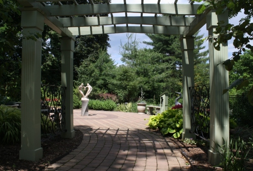 E - touch garden