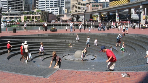 8 - Spiral Fountain, Darling Harbour, Sydney, Australia