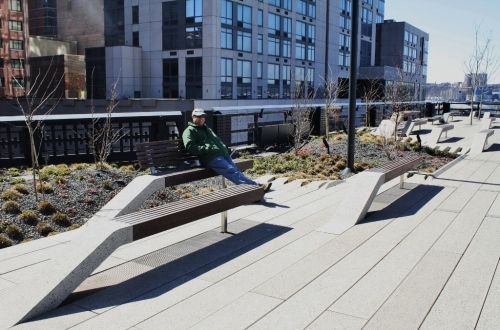 High Line at the Rail Yards 1