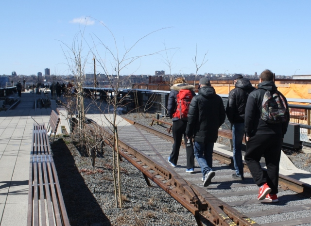 High Line at the Rail Yards 3