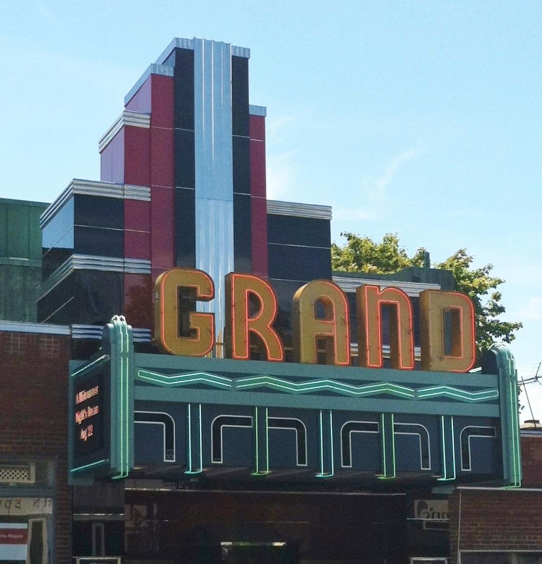 G - Grand theater, Ellsworth ME