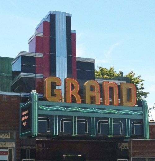 G - Grand theater, Ellsworth ME